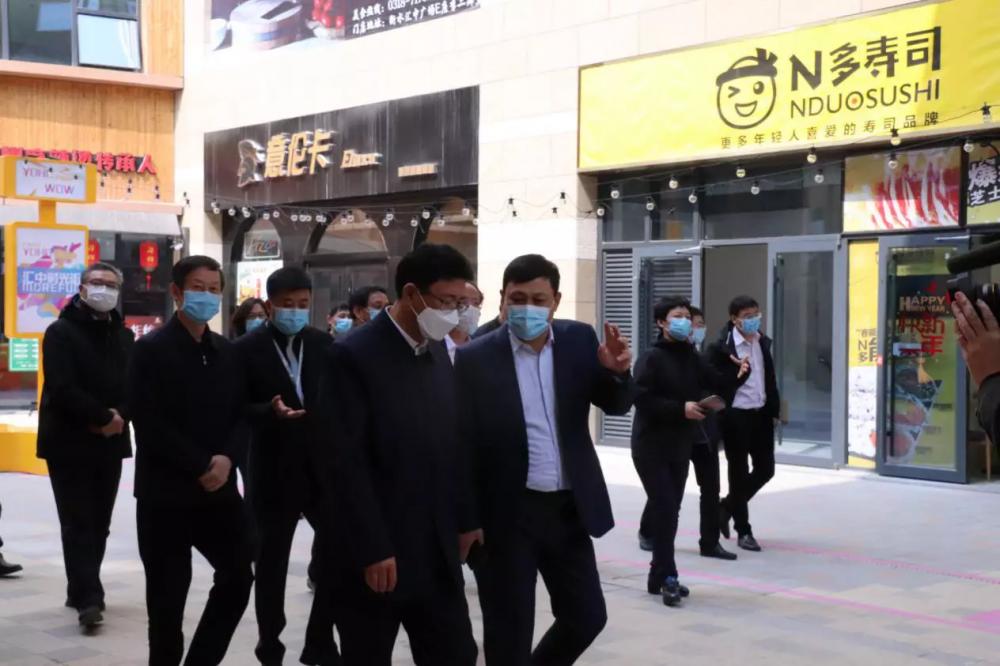 衡水市主要领导调研贝博体彩app下载广场复工保障工作